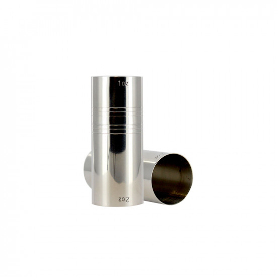 Verre doseur cylindrique 2-4 cl/ Circle jigger 2-4 cl