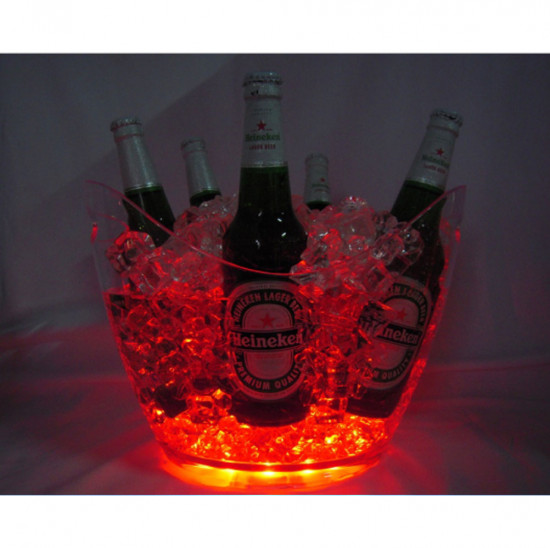 Vasque lumineuse 8 l / led light Bucket 8 l